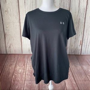 Under Armour UA black loose fit Tee size XL